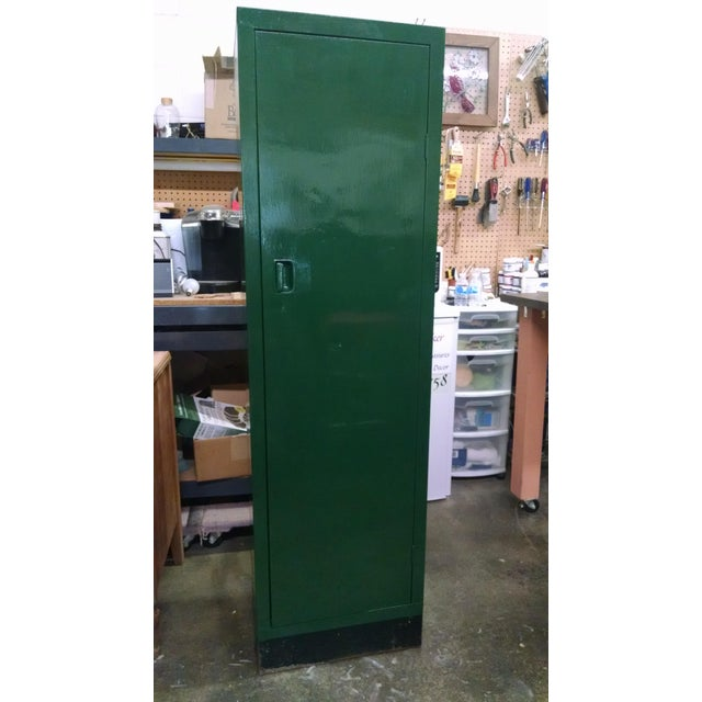 Vintage Metal Industrial Storage Locker - Image 2 of 8