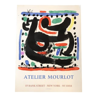 Original Miro Lithograph From Atelier Mourlot For Sale