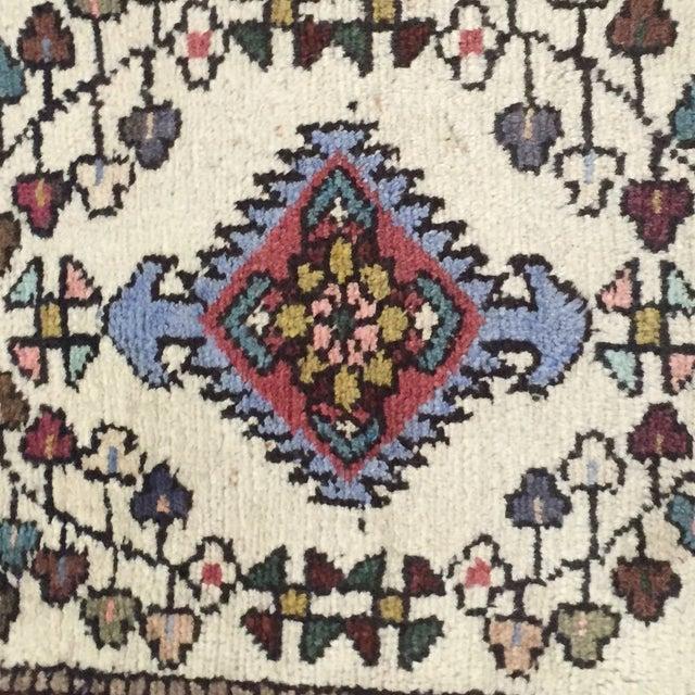"Vintage Hamadan Persian Rug - 1'8"" X 2'10"" - Image 4 of 8"