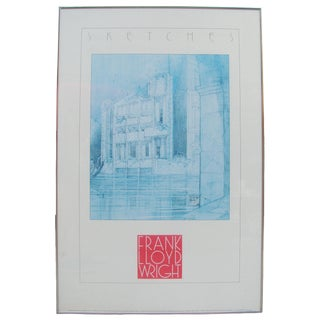Frank Lloyd Wright Framed Print For Sale