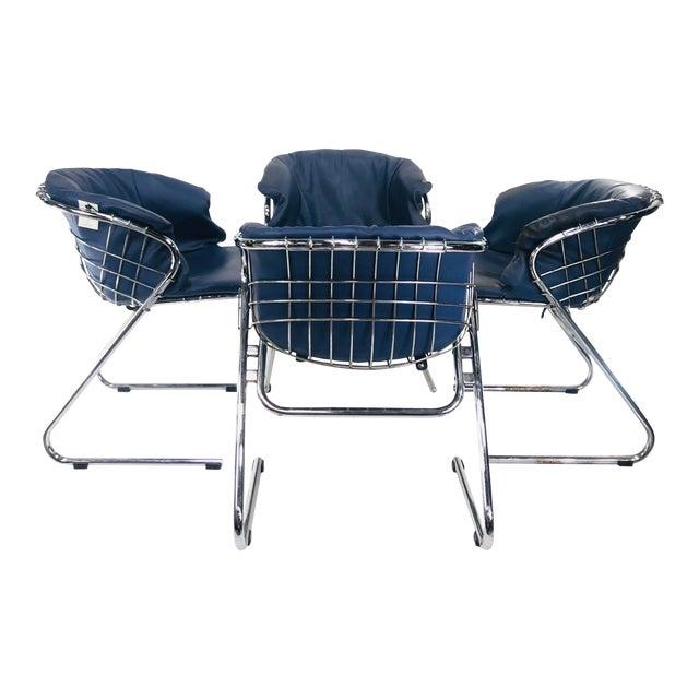 1960s Vintage Italian Gastone Rinaldi Chairs - Set of 4 For Sale