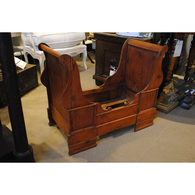 Mid-Century Modern 19th Century Dolls or Dog Sleigh Bed For Sale - Image 3 of 8