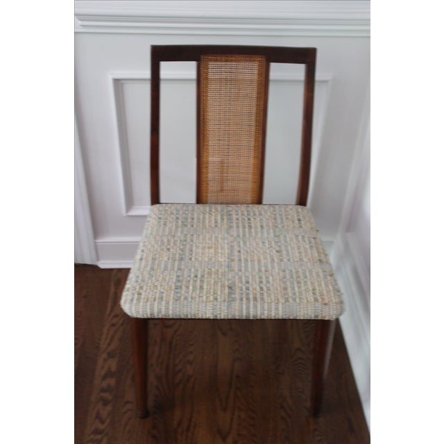 Mid-Century Hibriten Cane Back Chairs - Set of 6 - Image 9 of 11