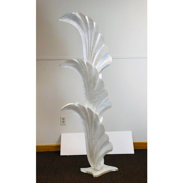 We are very pleased to offer a beautiful, large acrylic floor lamp by Rougier, circa the 1970s. In great Vintage...