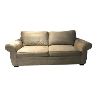 Pottery Barn Comfort Roll Arm Upholstered Sofa