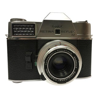 German Kodak Retina Reflex IV Camera, Type 051, Retina-Xena 50mm, F/2.8