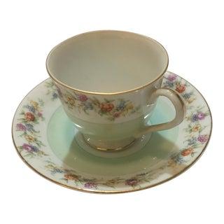 Vintage Yamaka Occupied Japan Porcelain Teacup Set
