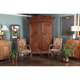 1800s French Louis XV Walnut Armoire Preview