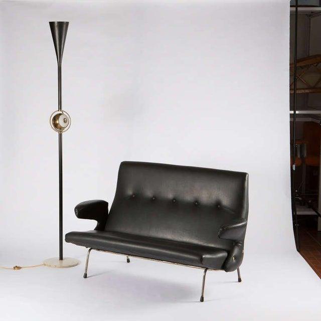 """Rare """"Delfino"""" Sofa by Erberto Carboni for Arflex For Sale - Image 9 of 10"""