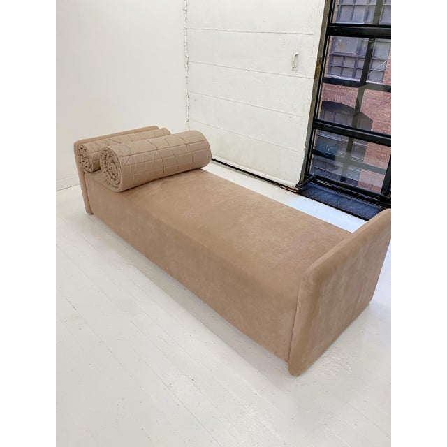 John Saladino Blush Chaise For Sale - Image 9 of 11