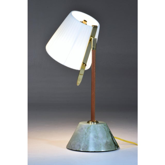 Modern Evolution Contemporary Table or Bedside Lamp, Flow Collection For Sale - Image 3 of 8