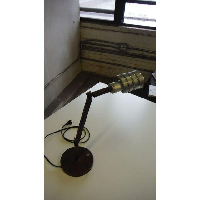 Adjustable Crane Desk Lamp For Sale - Image 7 of 7
