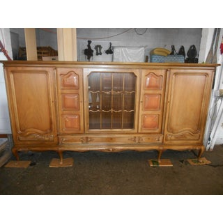 1940s Louis XV Queen Anne Maple Wall Unit Preview