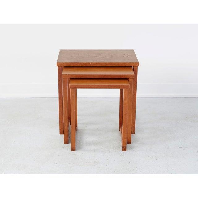 Kai Kristiansen Kai Kristiansen Nesting Tables For Sale - Image 4 of 8