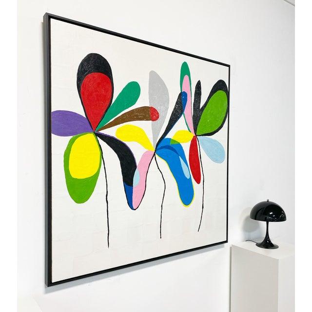 "John O'Hara Exclusive John O'Hara ""Fp 67, 2"" Encaustic Painting For Sale - Image 4 of 10"