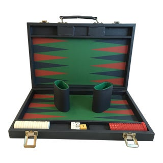 Vintage Backgammon Set For Sale