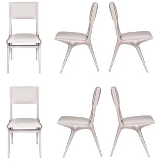 Customizable Boone Dining Chairs Set of Six For Sale