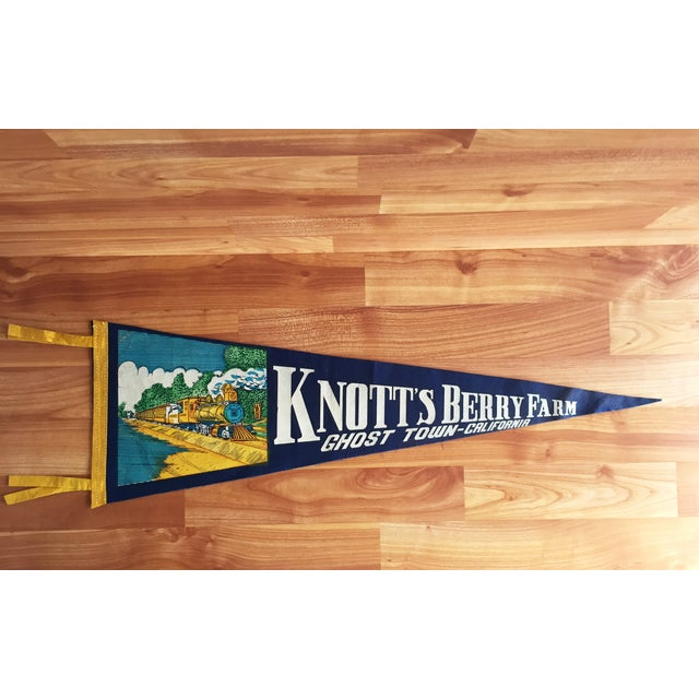 Knott's Berry Farm Vintage Pennant - Image 2 of 6