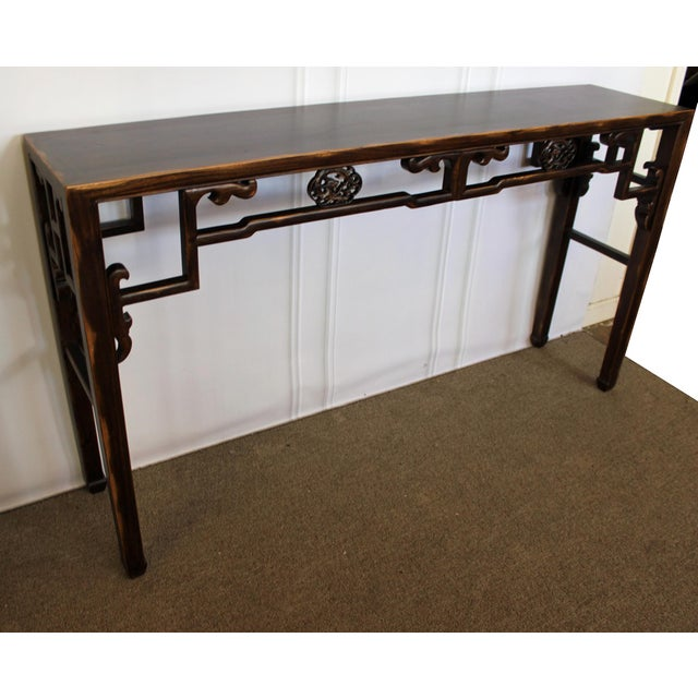 Carved Console Table For Sale - Image 4 of 10