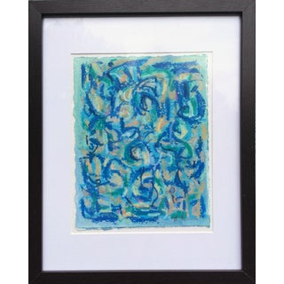 Female Blue IV Painting by Heidi Lanino For Sale