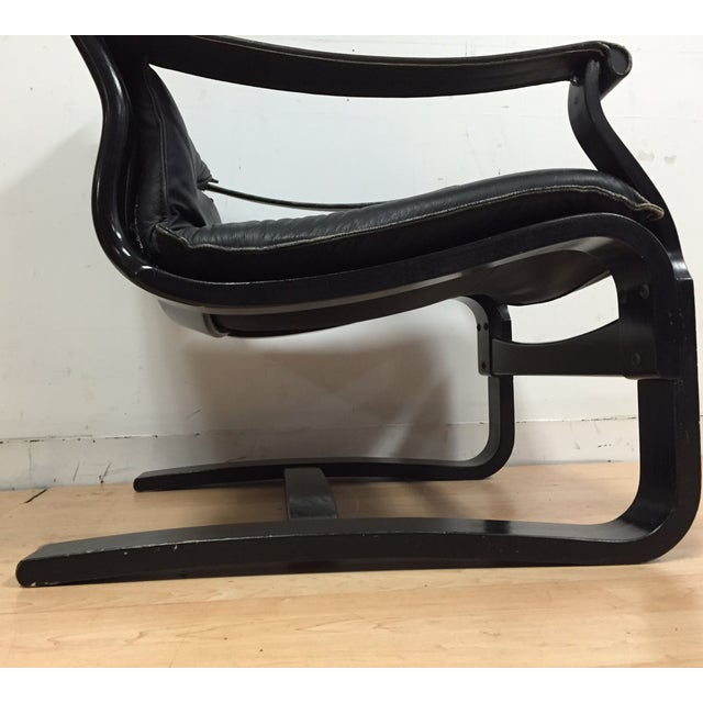Nelo Leather Lounge Chair - Image 5 of 10