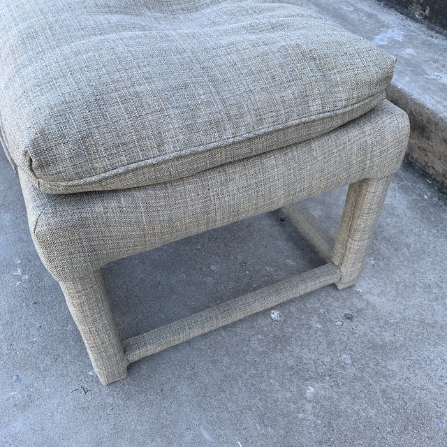 Milo Baughman Parsons Style Ottomans - a Pair For Sale In Richmond - Image 6 of 11