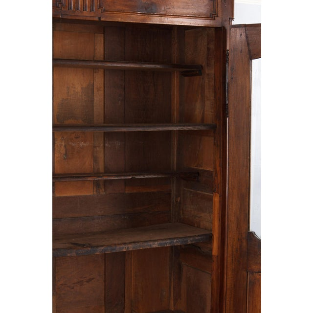 French Walnut Armoire Transition Period, 1800s - Image 5 of 10