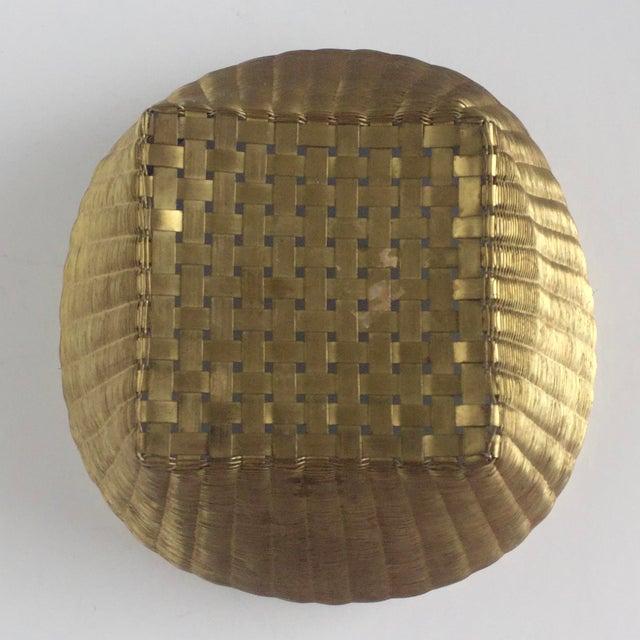 Solid Brass Basket - Image 3 of 7