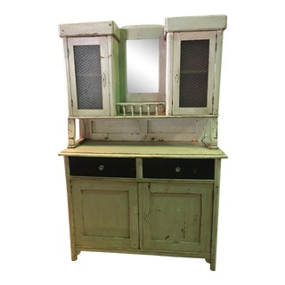 1930s Vintage Country Hutch For Sale