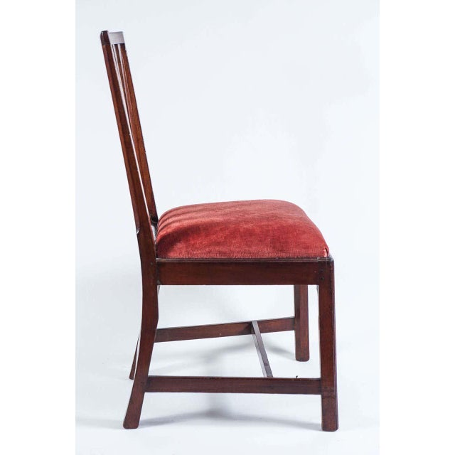 1790 Federal Mahogany Side Chair For Sale - Image 4 of 10
