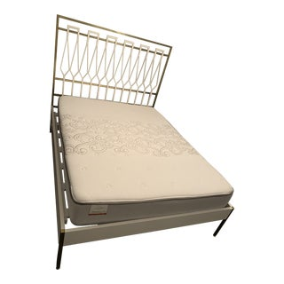 Anthropologie Balustrade Queen Bed For Sale