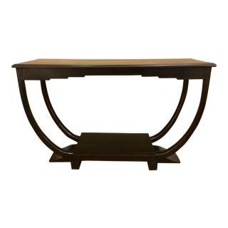 Antique Asian Deco Console Table