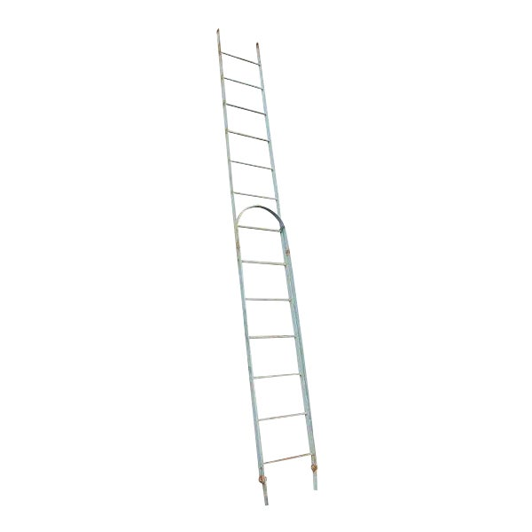 Vintage Extendable Steel Fire Escape Stairs For Sale