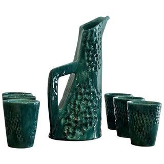 1950s Ceramic Carafe by Ceramiche Pucci
