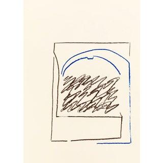 1988 Pierre Buraglio Lithograph N10-5 For Sale