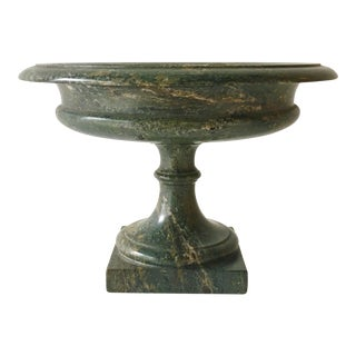 Late Regency Serpentine Stone Tazza Cornwall Circa 1830 For Sale