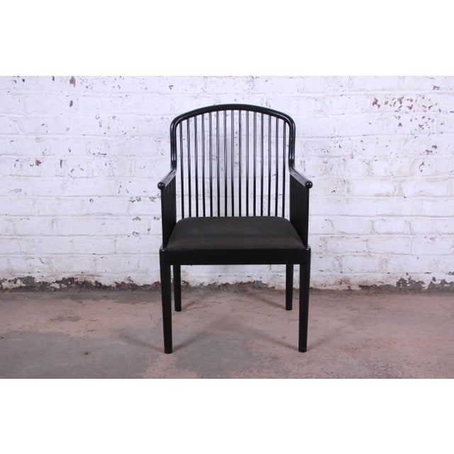 Black Stendig Andover Black Spindle Armchairs - a Pair For Sale - Image 8 of 13
