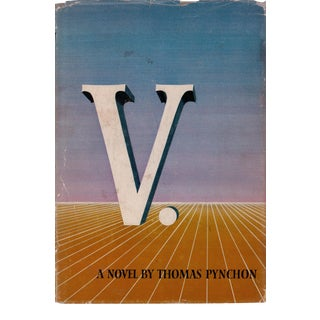 """1963 """"V."""" by Thomas Pychon Collectible Book For Sale"""