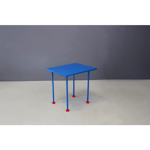 Ettore Sottsass Coffee Table Modern First Prototype Factory by Ghianda, 1980s For Sale - Image 6 of 6