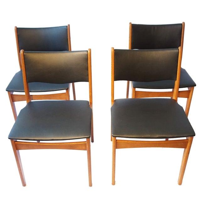 Uldum Møbelfabrik Danish Chairs - Set of 4 - Image 1 of 7