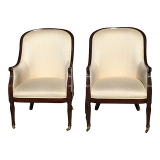 Hancock and Moore Bergères-a Pair For Sale