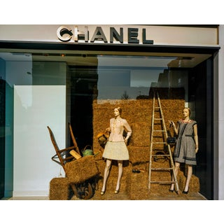 """""""Chanel 2, London"""" Contemporary Store Window Photograph by Guy Sargent For Sale"""