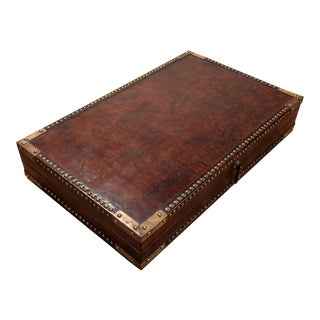 Winchester Leather Box For Sale