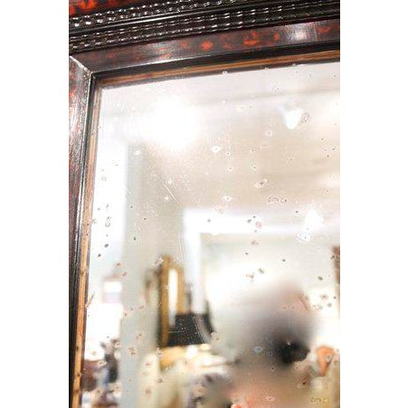 Flemish Faux Tortoiseshell Mirror For Sale - Image 4 of 5