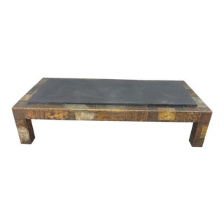 1970's Directional Paul Evans Patchwork Coffee Table