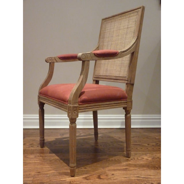 Restoration Hardware Cane Back Chairs - Pair - Image 3 of 6