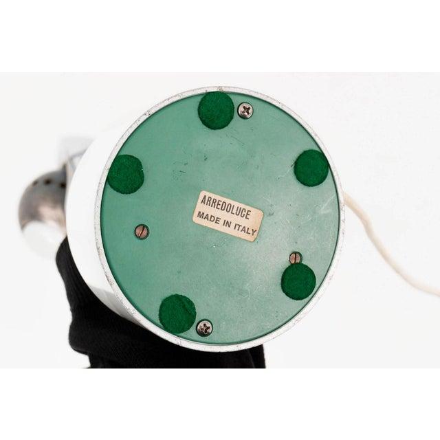 """Chrome Angelo Lelli """"Cobra"""" Lamp for Arredoluce For Sale - Image 7 of 8"""