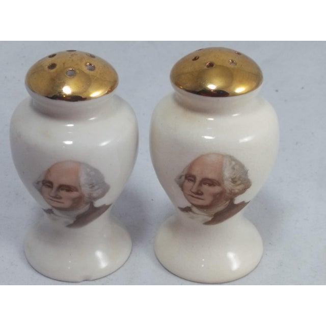 George Washington Salt & Pepper Shakers - Image 3 of 10