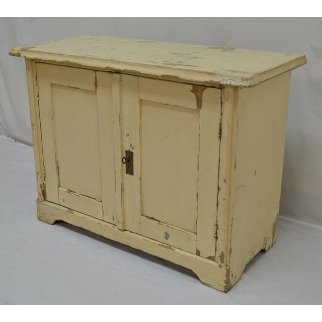 Painted Pine Water Cupboard - Image 4 of 9