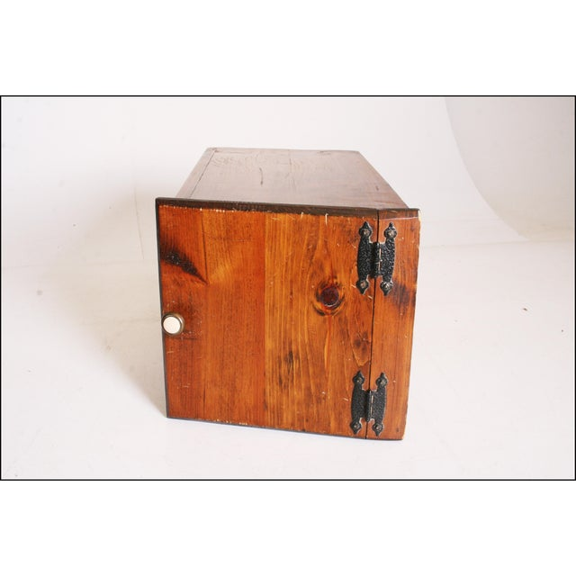 Vintage Rustic Wood Taters & Onions Bin - Image 9 of 11
